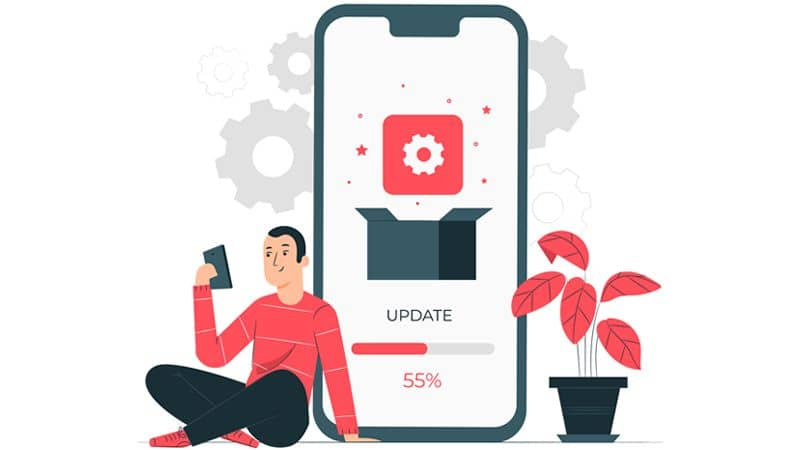 how to update apps.