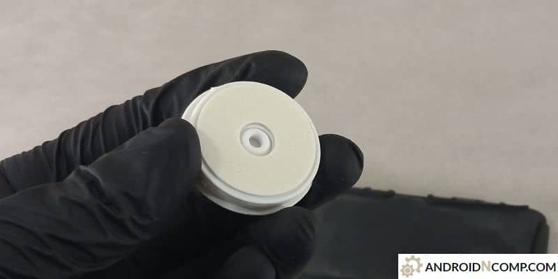a cheap option where double-sided foamed tape is used.