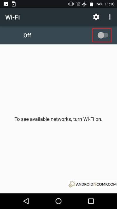enable wifi module
