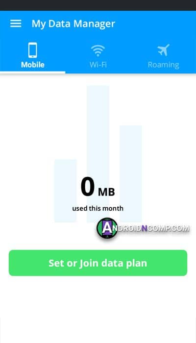 My Data Manager app.