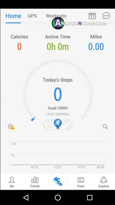 Pacer Health Pedometer app